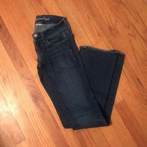 American Eagle super stretch artist jeans